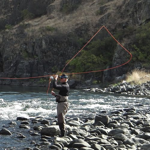 Single hand lessons ballistic fly lines for Fly fishing classes